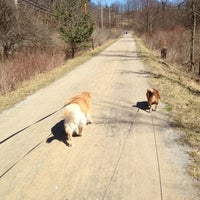Photo taken at Montour Trail by Heather M. on 3/11/2012