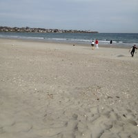 Photo taken at First Beach by Paul O. on 4/14/2012