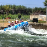 Photo taken at U.S. National Whitewater Center by Cale H. on 7/7/2012