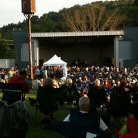 Photo taken at South Park Ampitheater by James R. on 8/10/2012