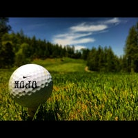 Photo taken at Apple Mountain Golf Resort by Forrest B. on 5/13/2012