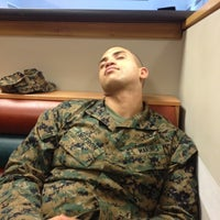 Photo taken at Marine Barracks Chow Hall by Maddy A. on 2/23/2012