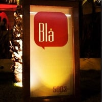 Photo taken at Blá Bar by Adriana S. on 7/1/2012
