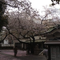 Photo taken at 御津八幡宮 by Maruken on 4/12/2012