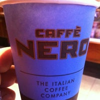 Photo taken at Caffè Nero by Mohammad A. on 4/1/2012