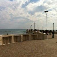 Photo taken at Pontile di Ostia by Willy on 5/1/2012