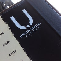 Photo taken at Union Social Eatery by Dave on 7/28/2012