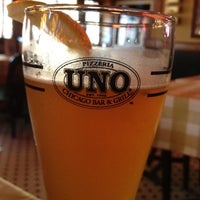 Photo taken at Uno Pizzeria & Grill - Holyoke by David on 8/2/2012