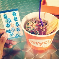 Photo taken at Myo Pure Frozen Yogurt by Ariana C. on 8/23/2012