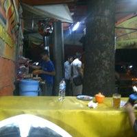 Photo taken at Sate Blora Mas Seno by Obob J. on 2/9/2012