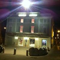 Photo taken at Teatro Ristori by Marilena M. on 3/13/2012