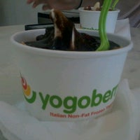 Photo taken at Yogoberry by Luiza B. on 7/27/2012