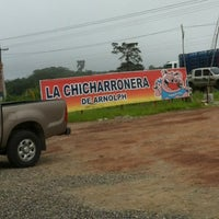 Photo taken at Chicharronera de Arnolph by Luis R. on 6/6/2012
