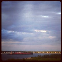 Photo taken at Gaspee point by Amanda S. on 9/2/2012