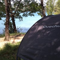 Photo taken at Lago di Suviana by Igor M. on 7/15/2012