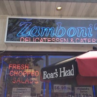 Photo taken at Zamboni's Deli & Catering by Hilary on 5/26/2012