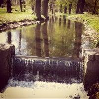 Photo taken at Dworek Jeziorki by Jaroslaw M. on 4/25/2012