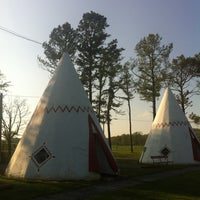 Photo taken at Wigwam Village #2 by Kell P. on 4/1/2012