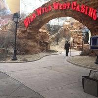 Photo taken at Wild Wild West Casino by Moni B. on 2/16/2012