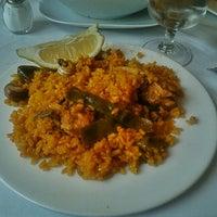 Photo taken at Restaurante Casa Clemencia by Alice B. on 7/22/2012