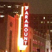 Photo taken at Paramount Center by Julie B. on 3/1/2012