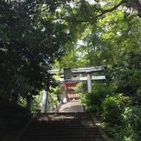 Photo taken at Ohirasanjinja Shrine by shinya a. on 8/4/2012