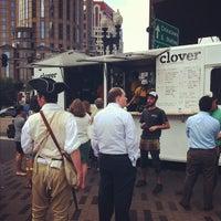 Photo taken at Clover Food Truck (Dewey Sq) by Scott K. on 8/13/2012