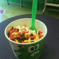 Photo taken at Monster Yogurt by Donielle E. on 6/23/2012