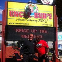 Photo taken at Uncle Bub's BBQ & Catering by Maze J. on 9/8/2012