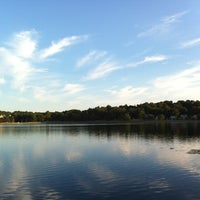 Photo taken at Chestnut Hill Reservoir by Jo on 7/10/2012