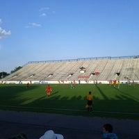 Photo taken at City Stadium by Mia A. on 5/29/2012
