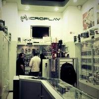 Photo taken at Microplay Mall Plaza El Trebol by josecarlos r. on 7/14/2012