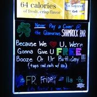 Photo taken at Shamrock Bar & Grille by Colt L. on 7/21/2012