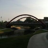 Photo taken at Vitruvian Park by Nana B. on 5/24/2012