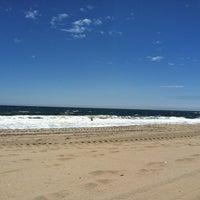 Photo taken at Manasquan Beach by Jenna W. on 5/20/2012