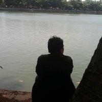 Photo taken at Situ Babakan Boat by Fir B. on 9/8/2012