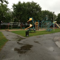 Photo taken at Parc Poirier by Isabel P. on 8/10/2012