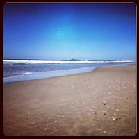 Photo taken at Marcoola Beach by Colleen on 8/11/2012