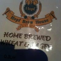 Photo taken at Hopf Brew House by E'phakwaen N. on 5/18/2012