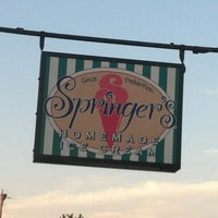 Photo taken at Springer's Homemade Ice Cream by Jason B. on 8/12/2012
