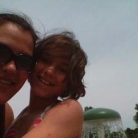 Photo taken at Kewanis Swim Pond by Sarah V. on 6/14/2012