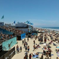 Photo taken at Vans US Open of Surfing 2013 by Don D. on 7/28/2012