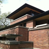 Photo taken at Frank Lloyd Wright Robie House by Takanori O. on 3/30/2012