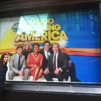 Photo taken at Good Morning America Studios by Rebeca S. on 8/10/2012