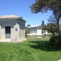 Photo taken at Hollywood Forever Cemetery by Hooman on 7/19/2012