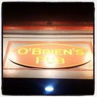 Photo taken at O'Briens Pub by Ramon M. on 2/2/2012