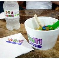 Photo taken at YoGuTi by Renata C. on 2/6/2012