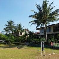 Photo taken at Grage Sangkan Hotel & Spa by Endi G. on 8/21/2012