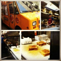 Photo taken at Grilled Cheese Nation Food Truck by Madeline D. on 4/24/2012