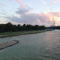 Photo taken at Wittelsbacherbrücke by Holger K. on 6/16/2012